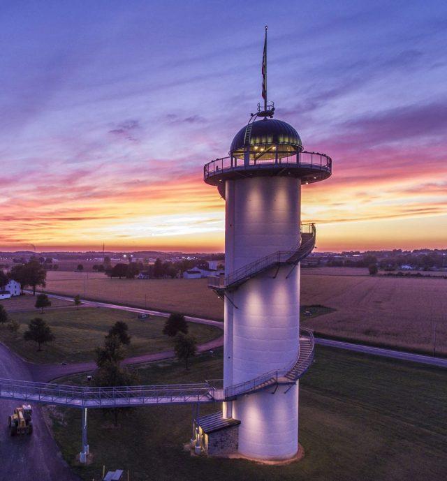 sunset silo